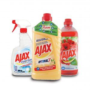 Σειρά Καθαριστικών Ajax